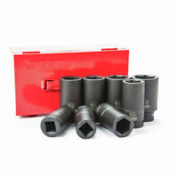 "Renegade Industrial 3/4"" 8 Pc SAE Deep Impact Socket Set"