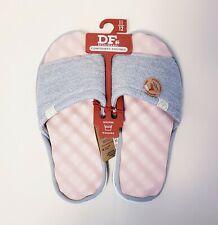 Dearfoams Floral Knit Slide Slipper Size 11-12