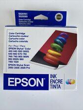 Epson S020191 S020089 Ink Cartridges Stylus Color 400 600 740 NIB Exp 01/2007