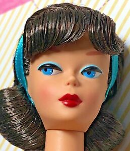 Vintage REPRO American Girl NUDE Barbie Side Part Reproduction GOLD LABEL Minty