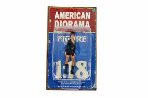 "COSTUME BABE DAPHNE AMERICAN DIORAMA 1:18 Scale Figurine 3.5"" Female LADY Figure"