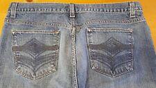 P19 Alfani Classic Straight Leg Denim Jeans Men Size 34/32
