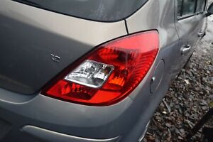 2011 VAUXHALL CORSA D 5 DOOR DRIVERS SIDE RIGHT TAILLIGHT