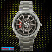 New Black HSV GTS E3 Car Wheel Rim Racing Sport Metal Watch Unisex Hot Item!