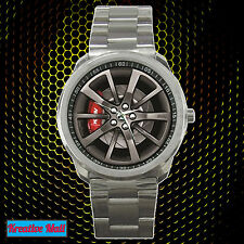 New Black HSV GTS E3 Car Wheel Rim Racing Sport Metal Watch Unisex Hot Item!