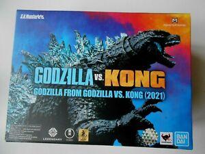 Bandai SH Monsterarts Godzilla 2021 vs Kong action figure in stock