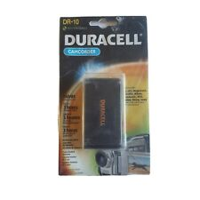 Duracell DR10 Rechargeable Camcorder Battery for Sony JVC Panasonic GE Nikon RCA
