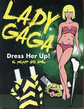 LADY GAGA [ Dress her up ] a Paper Doll Book  BRAND NEW UNREAD MINT