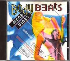 Compilation - Body Beats - Mega Vibes - CD - 1994 - Eurodance House Disky