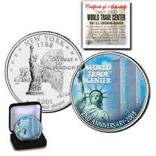 World trade Center 2001 U.S.Statehood Quarter  2nd. Anniversary Edition  OGP