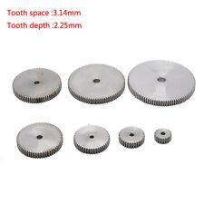 1 Mod 12T-150T Spur Gear 45# Steel Thickness 10mm Motor Pinion Transmission Gear