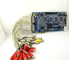 Used Genuine Geovision GV-1480A 16Ch PCI-E DVR CCTV 480FPS Full D1 Capture Card