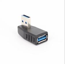 USB 3.0 Winkeladapter 90° A Buchse - A Stecker USB Adapter abgewinkelt links