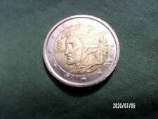"Pièce de 2 euro -2002 - ITALIE- ""DANTE"""