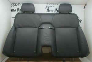 2010-2015 LEXUS IS250C IS350C REAR SECOND ROW UPPER SEAT LEATHER BLACK OEM