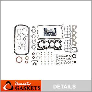 Fits 93-96 Honda Prelude 2.2L VTEC DOHC Full Gasket Set H22A1