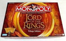Monopoly Lord of the Rings box Trilogy Edition inside pieces family board game(S