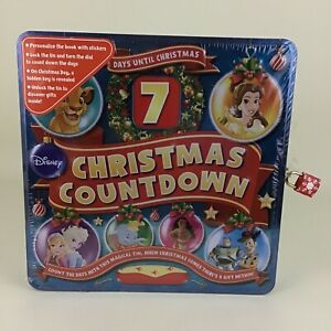 Disney Christmas Countdown Find Key Unlock Box Christmas Day Special Gift Sealed