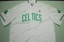 Boston Celtics Vtg 90s Nike Deadstock Team Game Issue USA Warm Up Shirt Jacket
