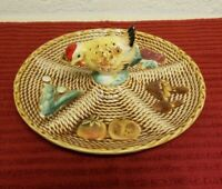 Vintage Rossini Japan Hors d'Oeuvres Plate, 9.5""