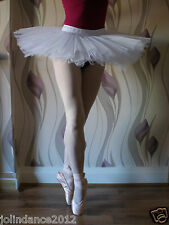 Professional adult lady girl ballet dance 4-layer hard net practice tutu - New
