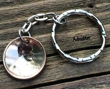 2012 LUCKY PENNY KEYCHAIN KEY RING 5th ANNIVERSARY GIFT GOOD LUCK CHARM!