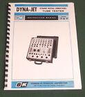 B&K Dyna-Jet 707 Tube Tester Instruction Manual & Tube Charts: Card Stock Covers
