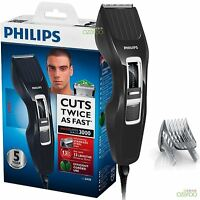 Philips Series 3000 Mens DualCut Technology Corded Hair Clipper Shaver HC3410/13