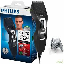 Philips Series 3000 Mens DualCut Technology Corded Hair Clipper Shaver HC3410/13