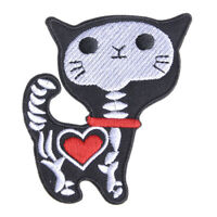 DIY Animal Cat Embroidery Sew Iron On Patch Badge Clothes Fabric Applique New