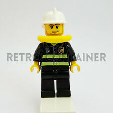 LEGO Minifigures - 1x cty086 - Fireman - Pompiere Omino Minifig 7944 7207