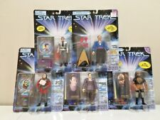 Lot of 5 - Star Trek Action Figures-DATA, MUDD, KUAN, DAX, HUNTER - 1997 MOCs