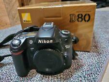 Nikon D80 Digital SLR Camera Body in box