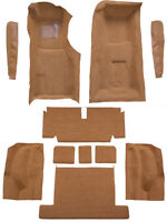 1969 Chevrolet Corvette 4 Speed Replacement Carpet Kit with Pad & Toe Pad