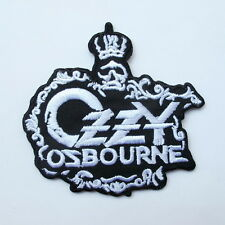 OZZY OZBOURNE EMBROIDERED MUSIC SONGS HEAVY METAL SEW IRON ON PATCH T-SHIRT JEAN