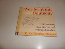 CD  Wer lernt mir Deutsch? von Hansgeorg Stengel und Franziska Kleiner