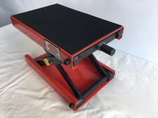 MOTORCYCLE LIFT BENCH STAND 500KG MOTORCYCLE SCISSOR LIFT JACK STAND (MCSSR)