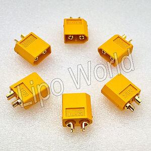 XT60 STECKER MALE ORIGINAL AMASS Qualität Modellbau Adapter Kabel Lipo Akku