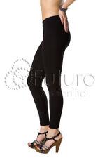 ac004a480 Leggings Algodón Mujer Largo completo Tallas 36-56 Cintura alta opacos