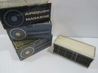 "3 lot Vintage Airequipt Magazine Holds 36 Slides 2 x 2"" Automatic Slide Changer"