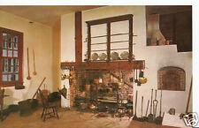 America Postcard - Family Kitchen at Mount Vernon   BX985