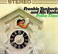 "FRANKIE YANKOVIC ""POLKA TIME"" LP 1964 columbia"