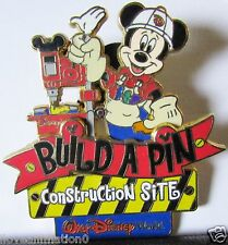 Disney Build A Pin Construction Site Mickey Mouse Pin **