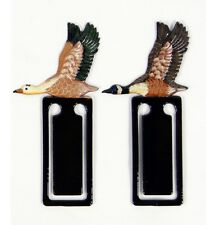 Hand Painted Canadian Canada Goose Bird Bookmarks (Set of 2) T35D-C