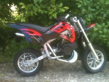 Minimoto Cross professionale pit bike 2 tempi blue minicross rosso ragazzo 10''