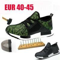Sécurité Hommes Poids Léger Baskets Chaussures De Travail Embout Coqué Acier