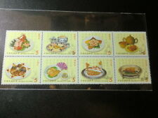 Taiwan Stamp(SC3259A-H)-1999-特403(771)-Chinese Gourmet Food-MNH