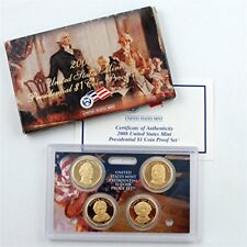 2008 US Presidential $1 Coin Proof Set