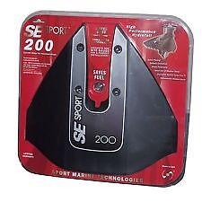NEW SE Sport 200 se200 Hydrofoil Hydro Foil Doel Fin Stabilizer SE200BLK