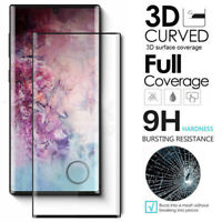 For Samsung Galaxy Note 10 Plus 5G FULL COVER 3D Tempered Glass Screen Protector